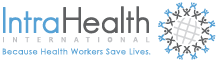 IntraHealth 2018 Annual Report Logo