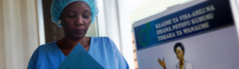 Women in the health workforce