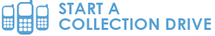 Start a collection drive