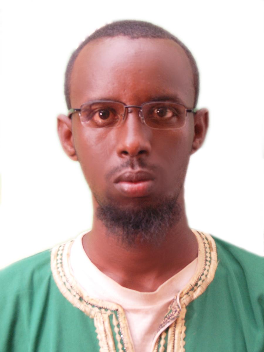 Midwife Omar Mohamed.