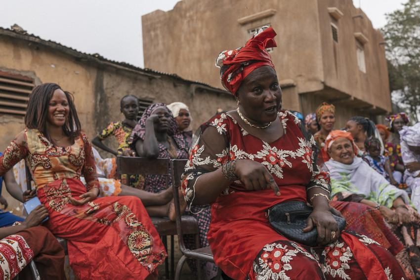 Nieta in Mali.