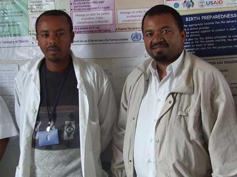 Staff at Legetafo Health Center
