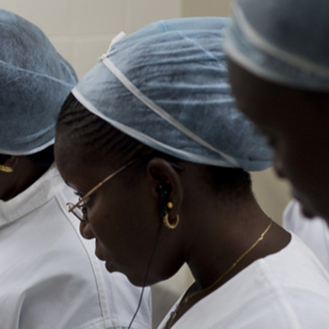 Women health workers in Senegal