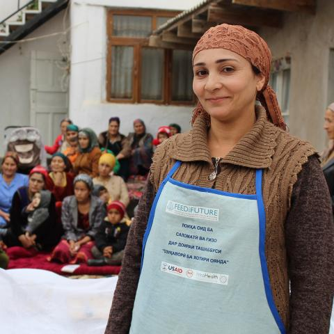 Technical brief: Community-based Approaches to Improve Maternal and Child Health and Nutrition in Tajikistan