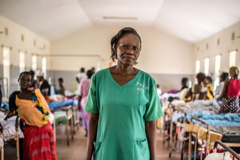 "<p>""Working alone is the most stressful part of my job,"" says Mary Babirye, an enrolled midwife at Jinja Regional Referral Hospital in central Uganda. ""Today I am alone. Fully staffed, there would be eight of us.""</p>"