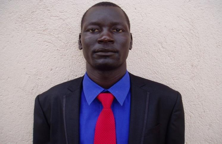 Before Ajak joined South Sudan's Ministry of Health, his department had no monitoring and evaluation officer, which meant that data on HIV in the country weren't adequately collected, analyzed, disseminated, or stored. Photo courtesy of Riak Ajak Panther.