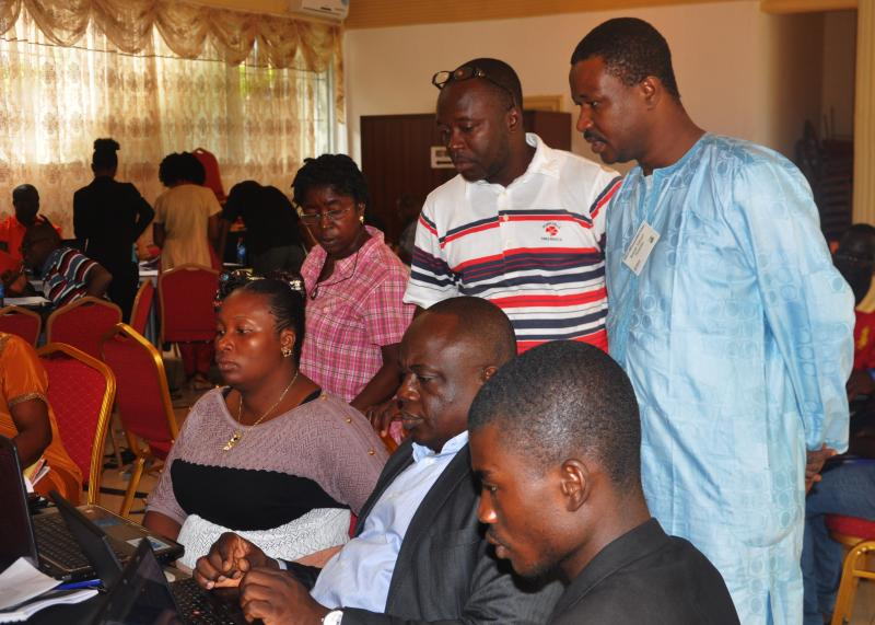 The academy in Monrovia was the first time the developers and software experts who use DHIS2 and iHRIS have come together to learn to make the two systems operate together.