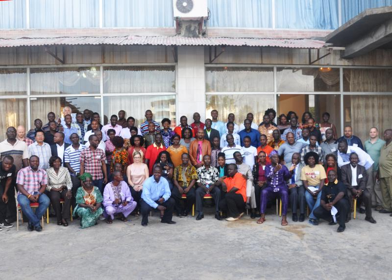 Over 90 data managers gathered in Monrovia, Liberia, for the academy, which was the first of its kind.