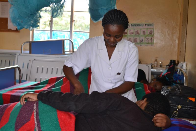 At the core of our work is the health worker. Communities need capable health workers to provide voluntary medical male circumcision, HIV testing and counseling, and services for victims of gender-based violence. Photo courtesy of Mkama Mwijarubi.