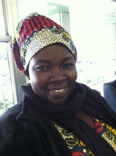 Ugandan midwife Esther Madudu. Courtesy Amref Health Africa.