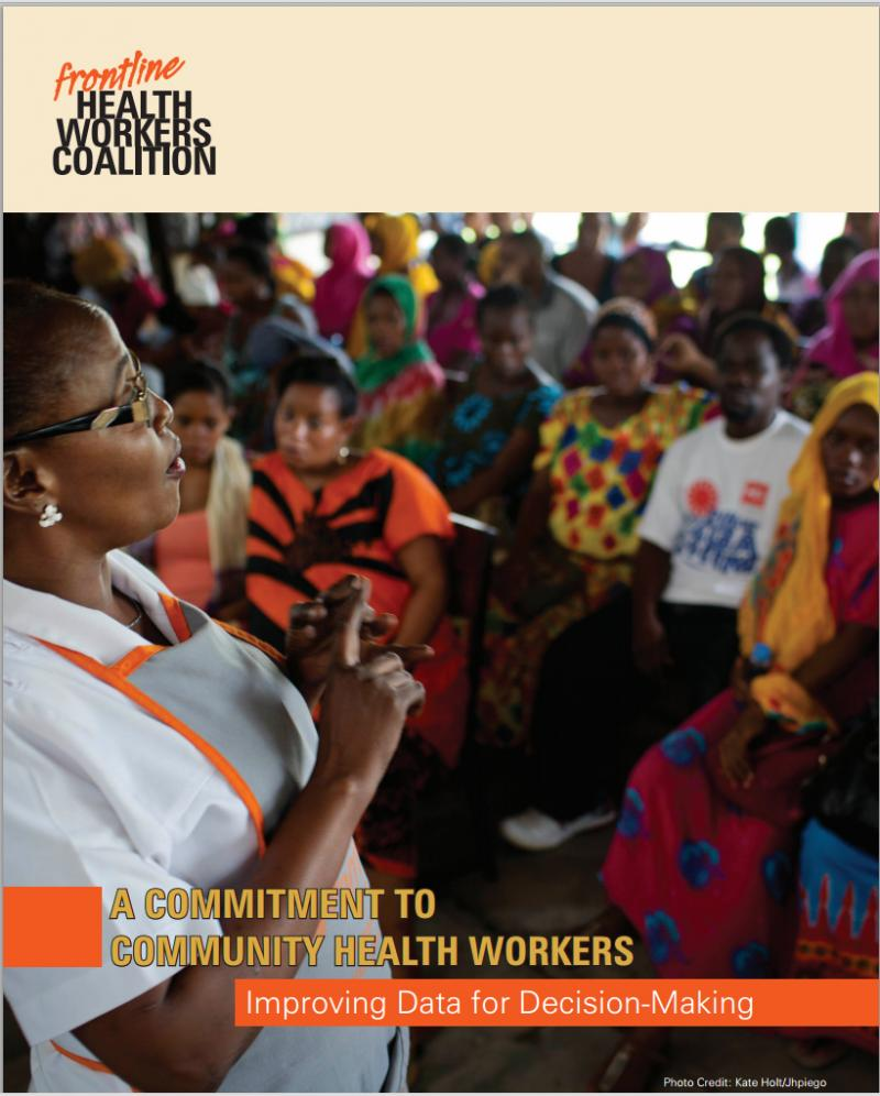 Read the full report online at frontlinehealthworkers.org/CHWreport/.