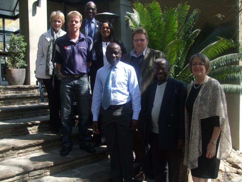 Members of IntraHealth Namibia's board of directors are dedicated bringing greater health and well-being to Namibia's 2.3 million people.