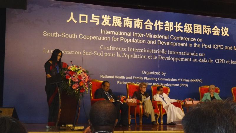 Annual Meeting of the Partners in Population and Development.