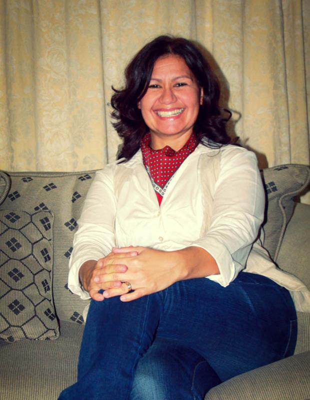 Rosaline Hendricks, IntraHealth's iHRIS Human Resource Information Systems Advisor in Namibia.