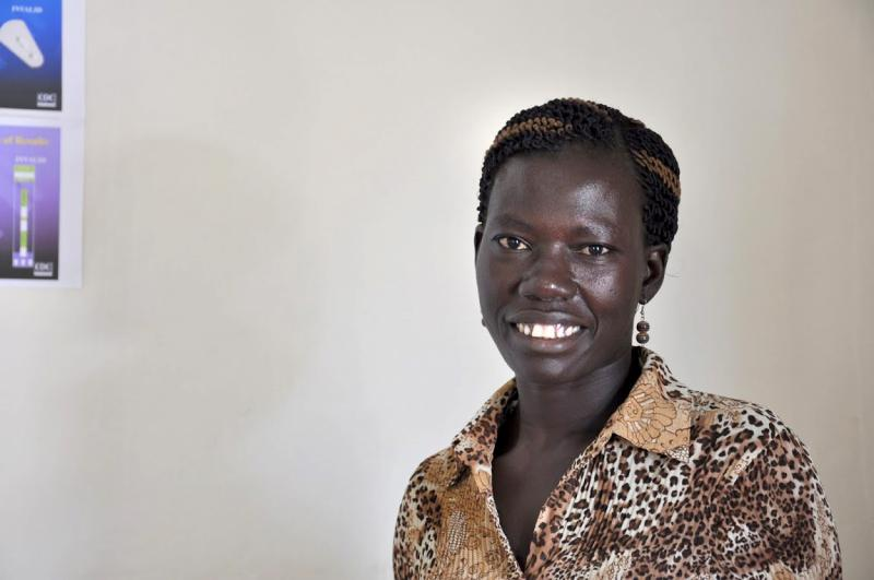 Joyce Juru, clinical officer for LINKAGES. Photo by Alex Collins for IntraHealth International