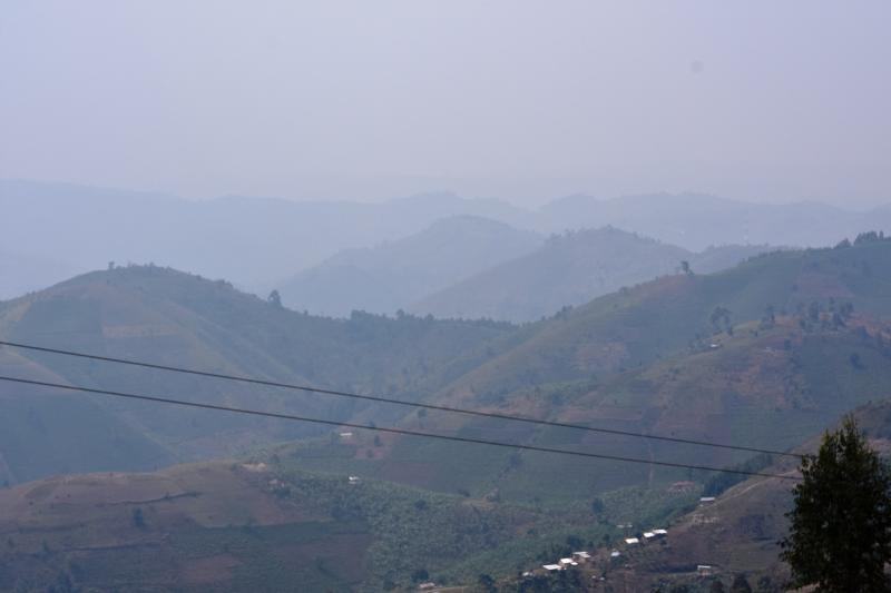 Buhweju district is a hard-to-reach area with inaccessible steep hills and limited means of transport.