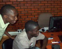 Collaborating with Students from Makerere University