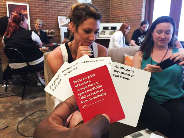 Playing JadedAid at SwitchPoint 2016. Photo courtesy of TMS Ruge.