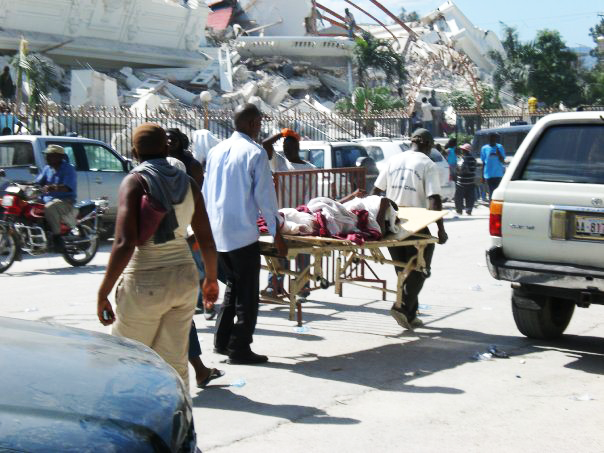 In 2013, research in Haiti found that 90.5% of survey respondents had at least one relative or close friend who was injured or killed. And 93% saw dead bodies. Photo courtesy of Yanica Faustin.