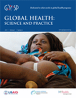 Global Health: Science and Practice, June 2017