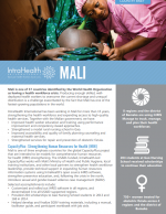 Mali country brief cover