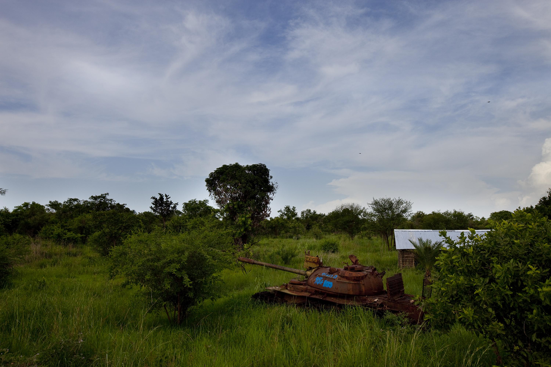 Scene in South Sudan