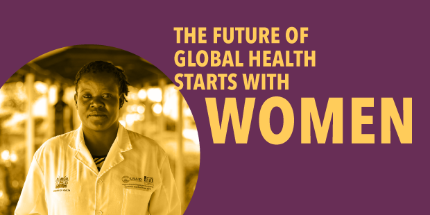 The future of women in global health starts here.