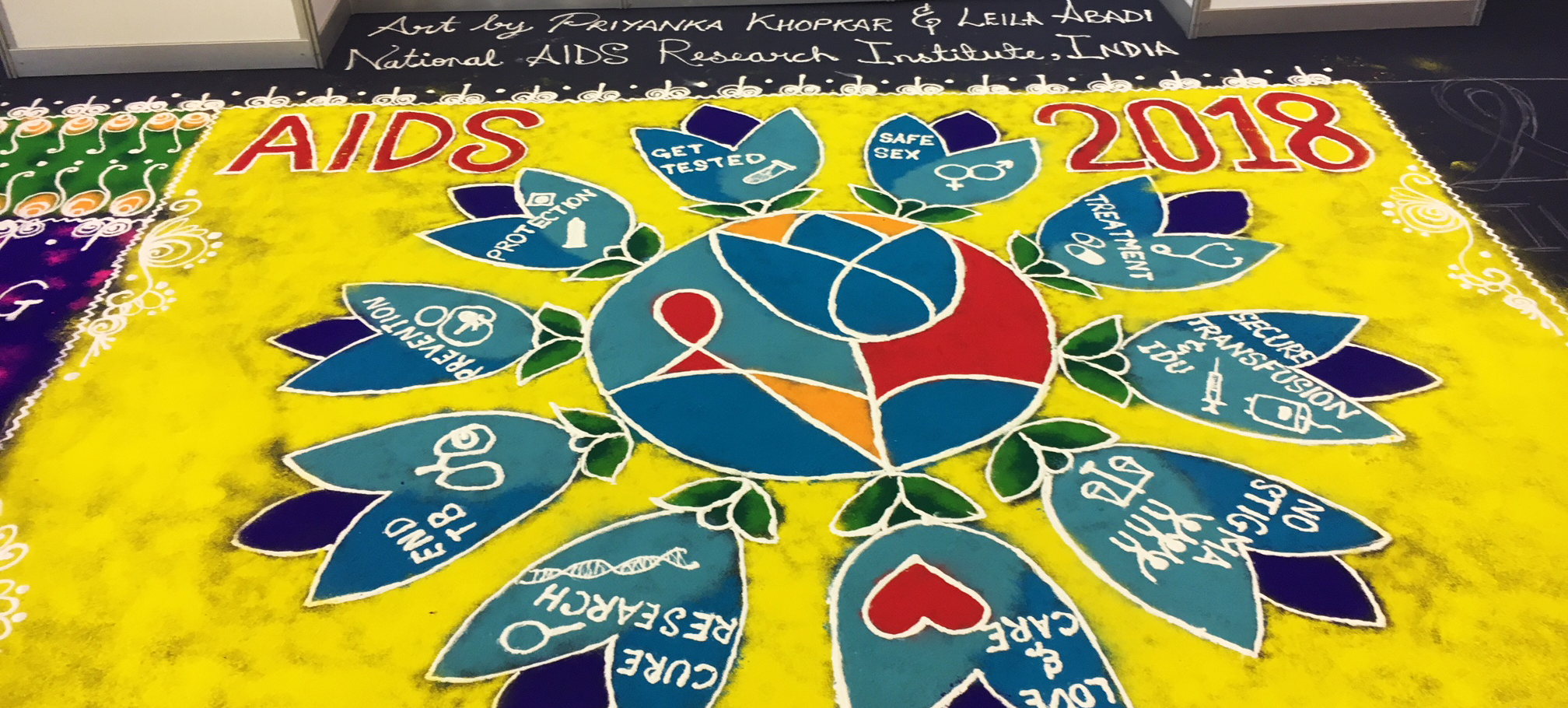 Mandala at AIDS 2018