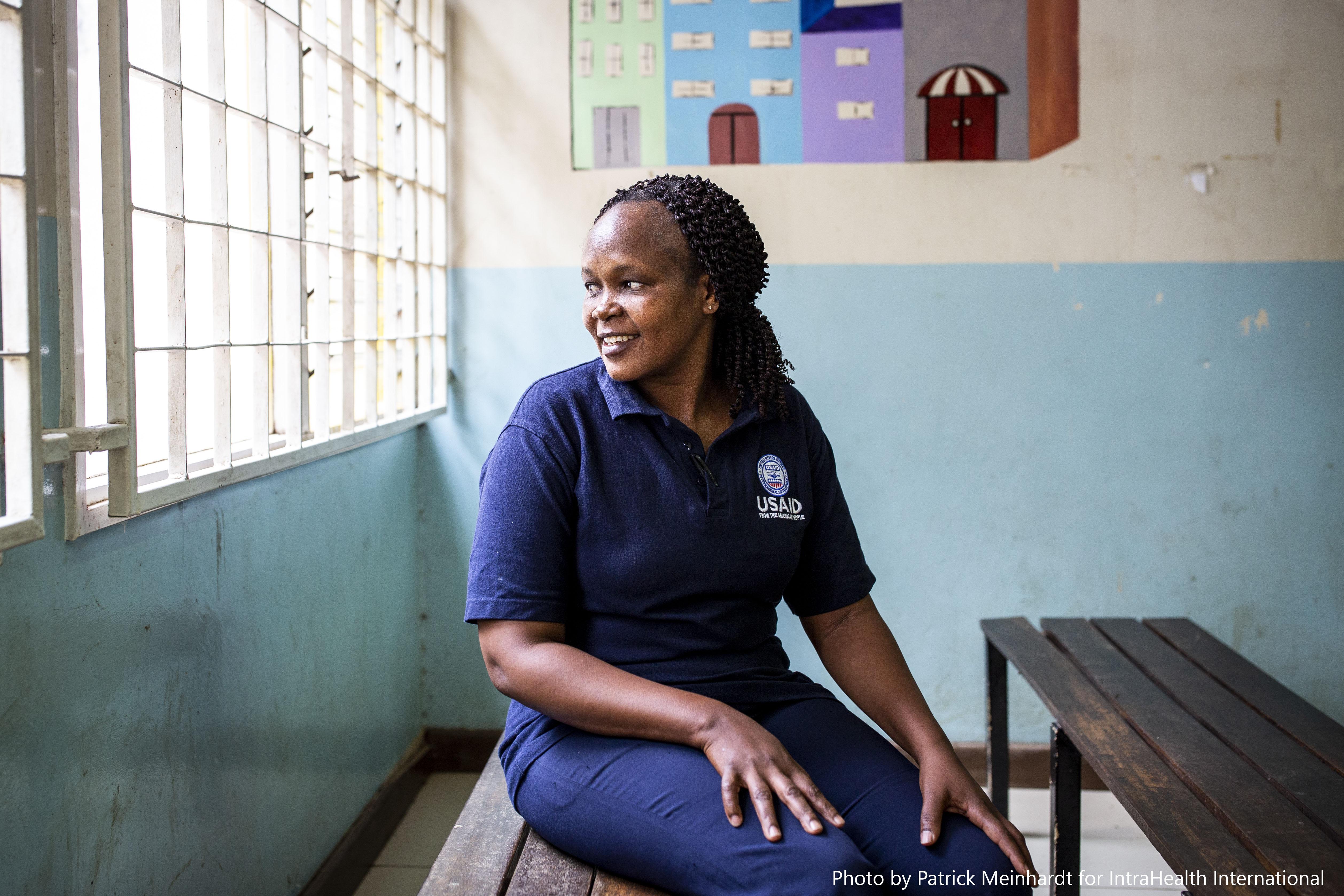 Nurse Beth Wachire
